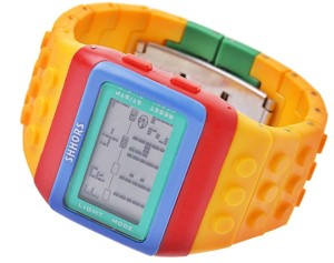 Kolorowy Zegarek jelly watch Shhors led F