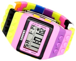 Kolorowy Zegarek jelly watch Shhors led A